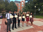 Gators of the Week: Level 1 and Level 2 students from Center for Law and Global Policy Win Big at Clemson's Model UN Conference