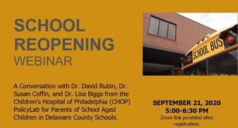 School Reopening Webinar