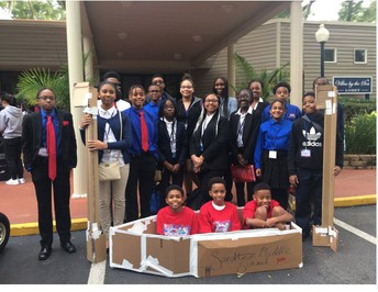 TSA: Sandtown TSA has won 1st place in the Architectural Design category for this year's Tech Day event!