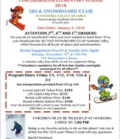 Ski Club Info Night 12/18 @ 5:00 p.m.