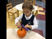 Pumpkin Washing