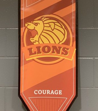 Lions are courage