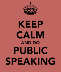 Save the Date! Public Speaking Workshop