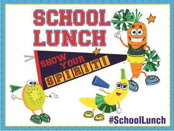 Spirit Day- Wednesday lunches- 12:30 pm
