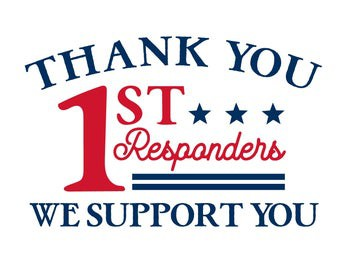 First Responder Thank You