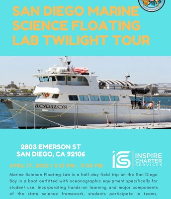 San Diego Marine Science Floating Lab Twilight Tour