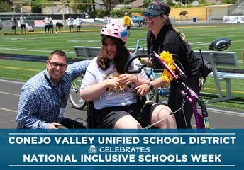 CVUSD Celebrates National Inclusive Schools Week