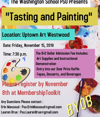 Tasting and Painting Night