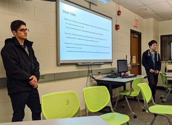 Students Present Research On eCigarettes to PSTO
