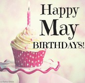 May Birthdays