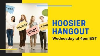 Hoosier Hangout for 6-12 students