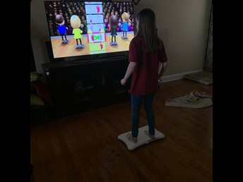 Play exercise and movement games on your gaming systems.