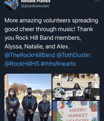 Orchestra Volunteering at Cockrell Elementary