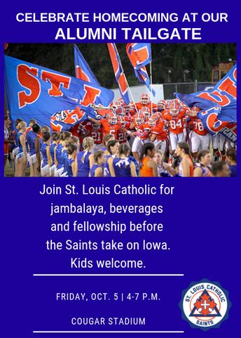 Saints Alumni: