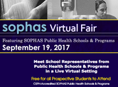 SOPHAS Virtual Fair – Public Health Schools & Programs
