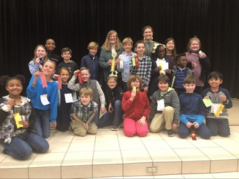 Rice Elementary District Area 2 UIL Meet Champions!