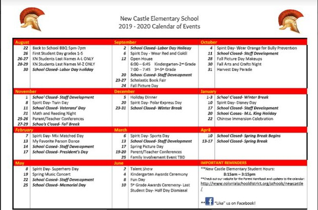 2018 home - New Castle Elementary School