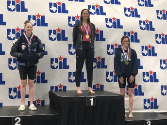 LTHS student earns 1st place at state swim meet