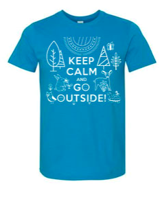 Keep Calm and Go Outside T-Shirts