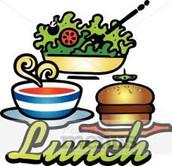 School Lunch Menu