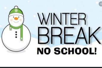 Winter Break Begins December 21