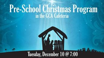 Pre-School Christmas Concert