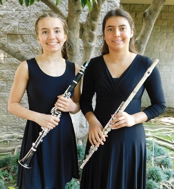 Two MEA Students in All-County Middle School Honor Band