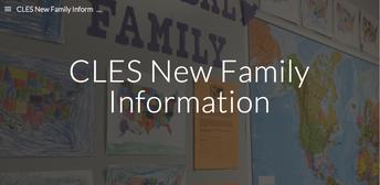 New Families Brochure
