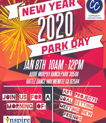New Year Park Day!