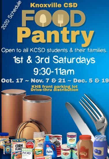 KCSD Food Pantry