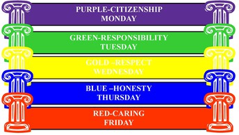 Character Counts! Week