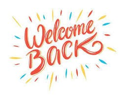 Welcome Back!!!!