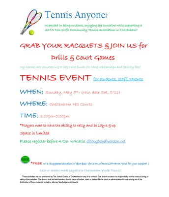 Tennis Event