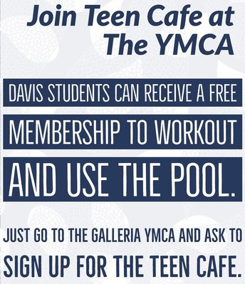 FREE YMCA Membership for Davis Students