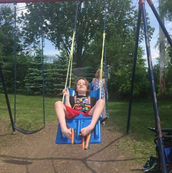 Perfect Day for Swinging