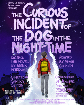 Opening this Thursday: 'The Curious Incident of the Dog in the Night-Time' at Lake City High School