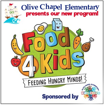 Food 4 Kids is Coming!