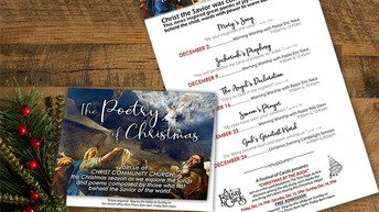 Invite your neighbors, family, and friends to our Christmas Services!