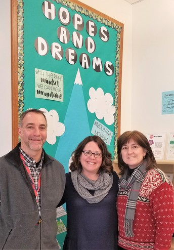 Featured Teachers- Emily Allen, Ciara O'Keefe and Joe Yarid
