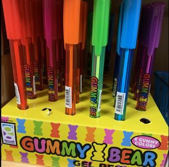Gummy Bear Gel Pen