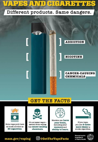 INFORMATION CAMPAIGN ABOUT YOUTH VAPING