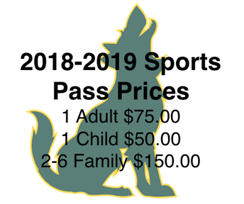 2018-2019 Sports Passes are for Sale!