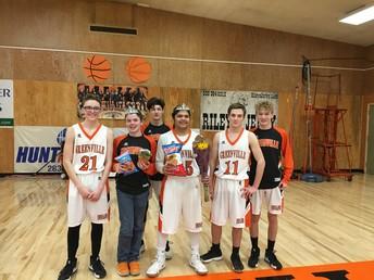 GJSHS Basketball Homecoming
