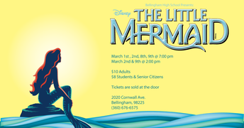 The Little Mermaid Musical at BHS