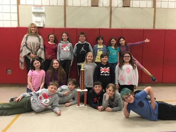 1st Place, Mrs. Williams' 4th Grade