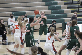 Girls Basketball Competes on their Home Court