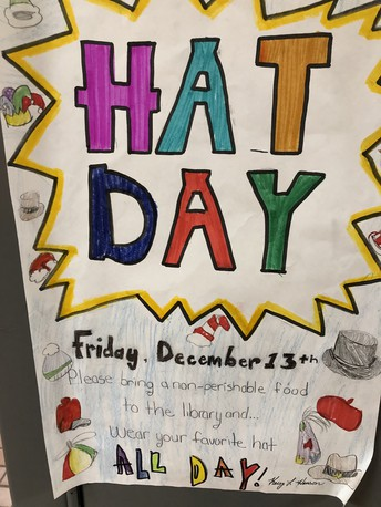 Hat Day for Food Pantry
