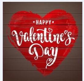 Valentines Day Class List