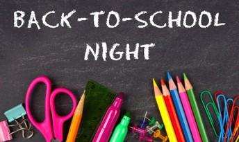 Back to School Nights