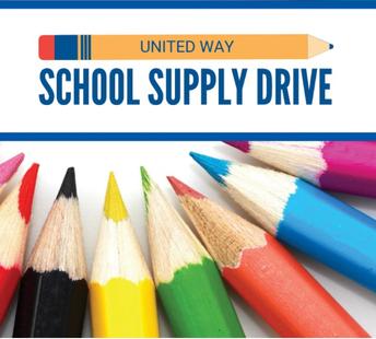 united way school supply drive